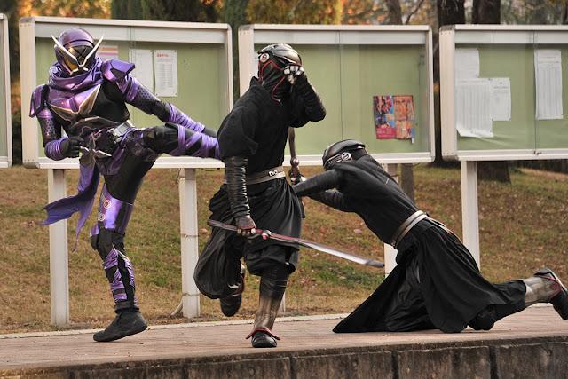 spon-off kamen rider shinobi