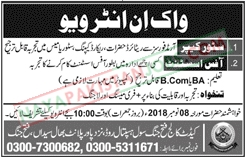 Latest Vacancies Announced in Cadet College Fateh Jang 30 October 2018 - Naya Pakistan