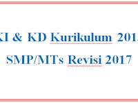 KI KD Kurikulum 2013 SMP/MTs Revisi 2017 DOC