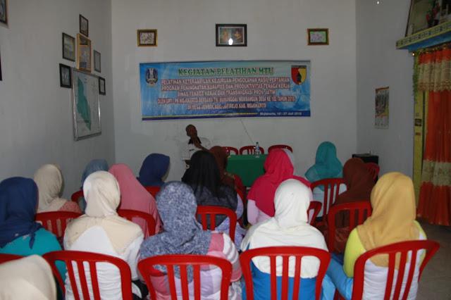 Kodim 0815 Mojokerto berkolaborasi dengan Dinas Tenaga Kerja dan Tansmigrasi Provinsi Jawa Timur melewati Unit Pelaksana Teknis – Pelatihan Kerja (PTPK) Mojokerto