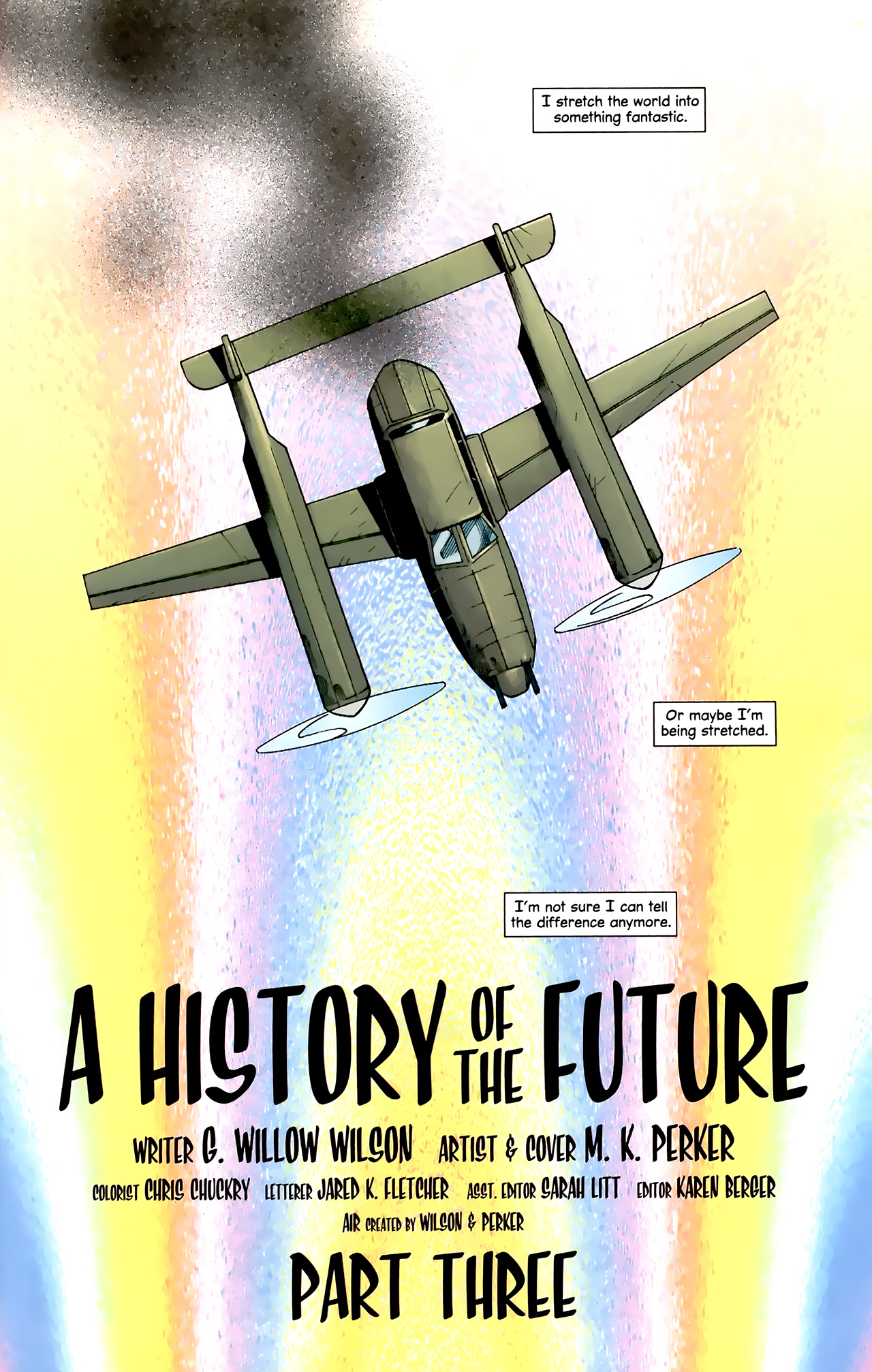 Read online Air comic -  Issue #21 - 2