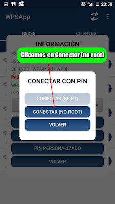 Aplicación para Android que aprovecha la vulnerabilidad del protocolo WPS para conectarse a redes WiFi