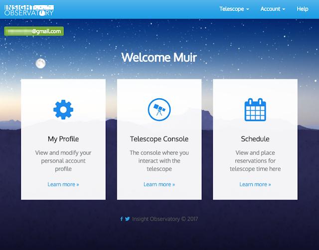 ATEO Online Portal on a Desktop Computer