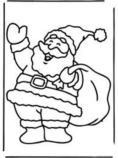 Dibujos Y Plantillas Para Imprimir Papa Noel - Papa-noel-para-imprimir