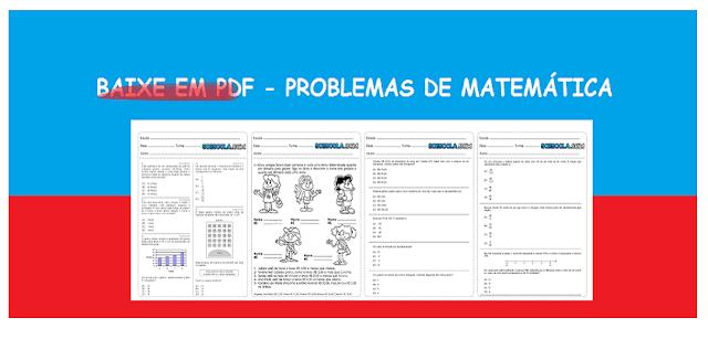 Baixe em PDF - Problemas de Matemática