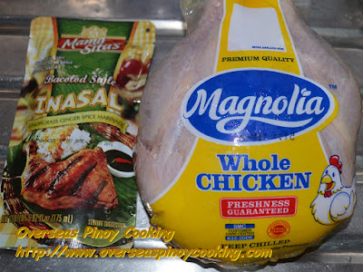 Lechon Manok , Inasal Style - Ingredients