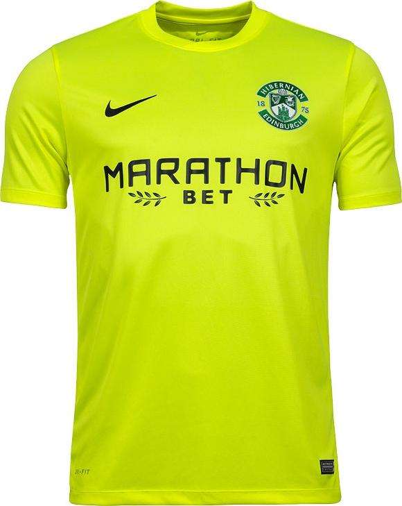 a473accaf6 Nike apresenta nova camisa reserva do Hibernian - Show de Camisas