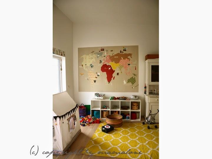 mamaloni weltkarte f rs kinderzimmer. Black Bedroom Furniture Sets. Home Design Ideas