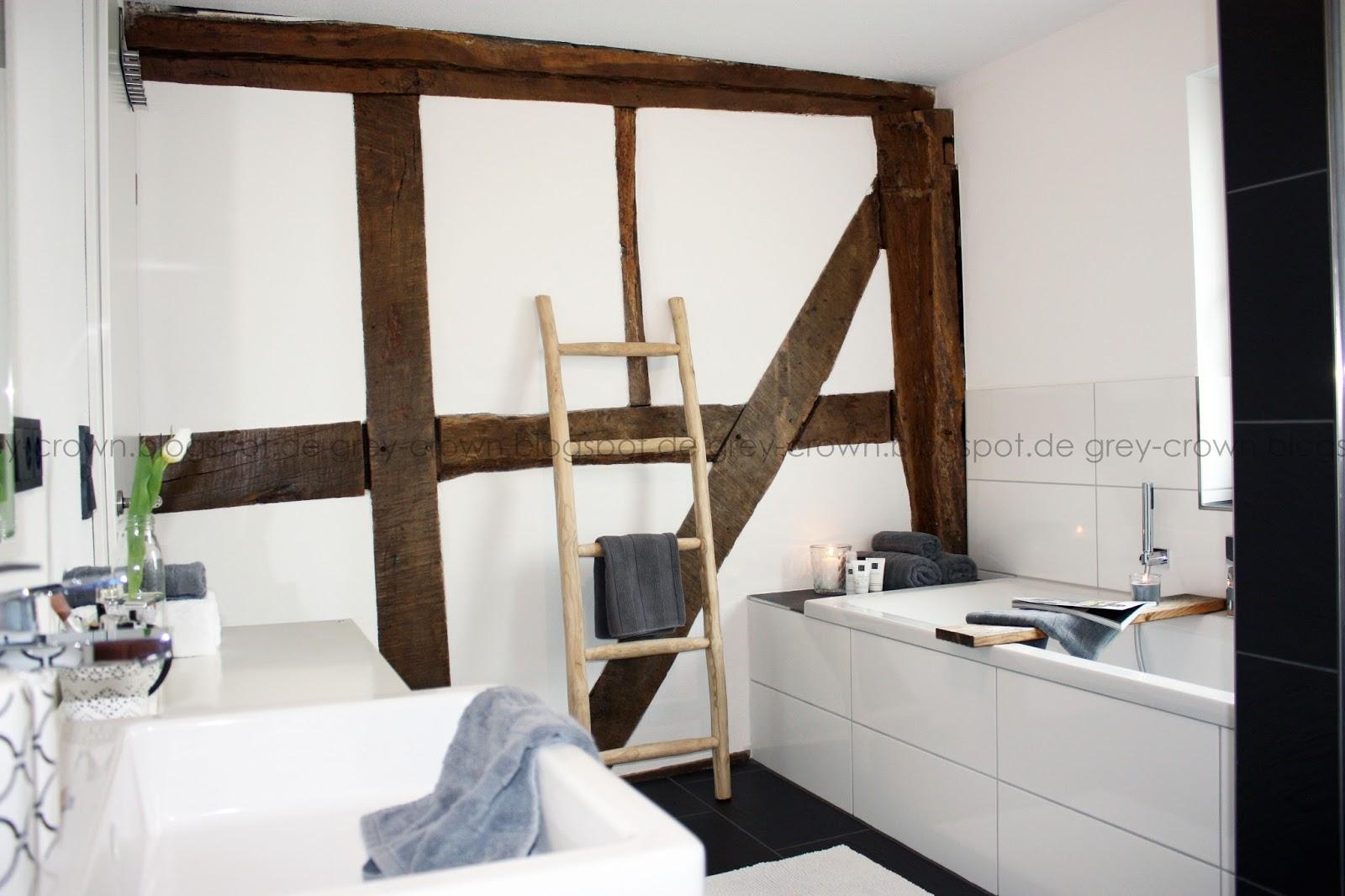 grey crown: Badezimmer - Vorher/Nachher