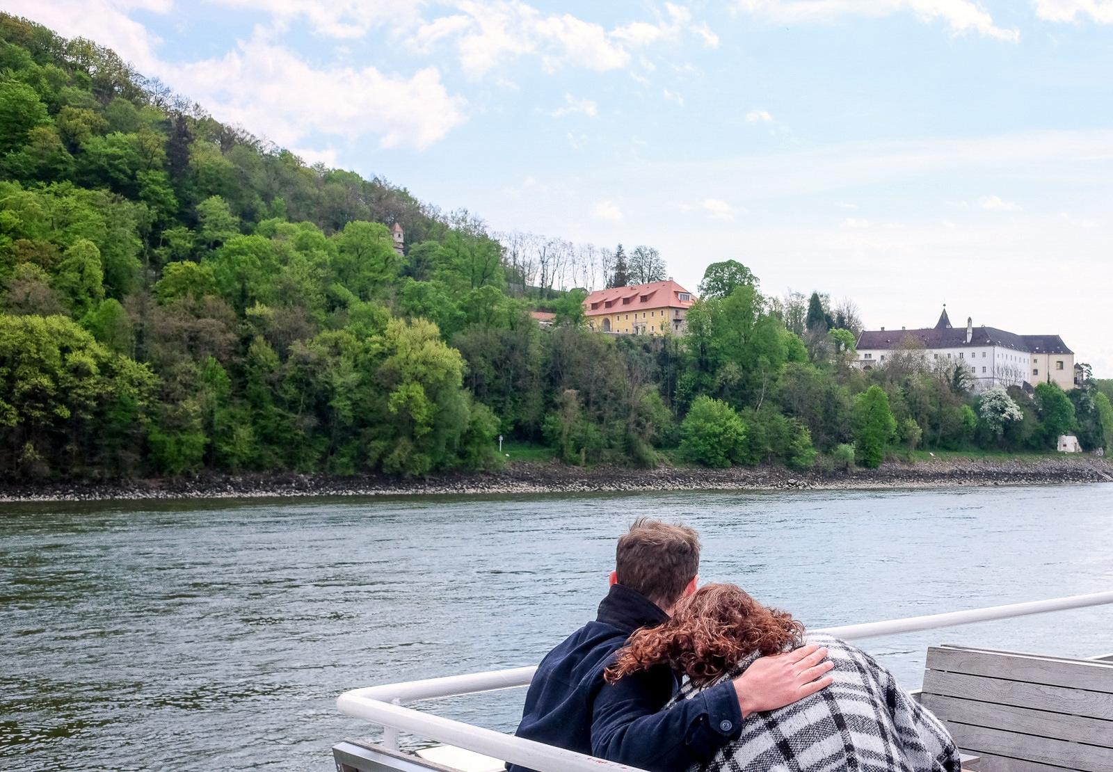 Aboard the MS Blue Danube, Wachau Valley, Austria