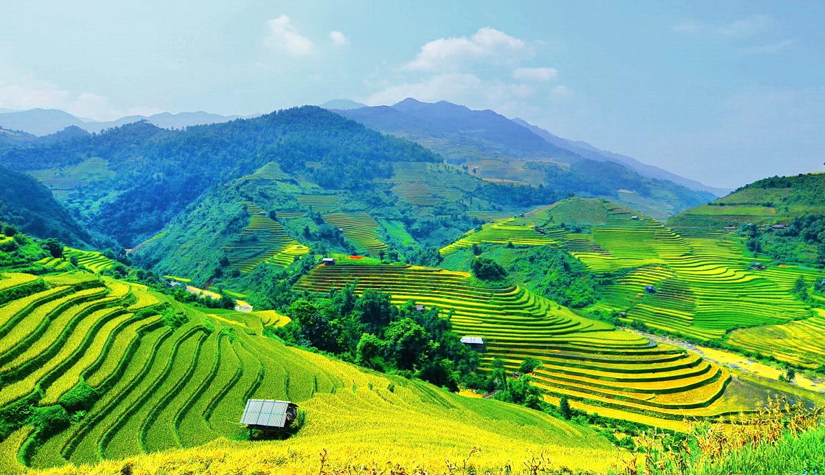 Chùm thơ hay họa ảnh Ruộng Bậc Thang tuyệt đẹp ở miền núi Tây Bắc