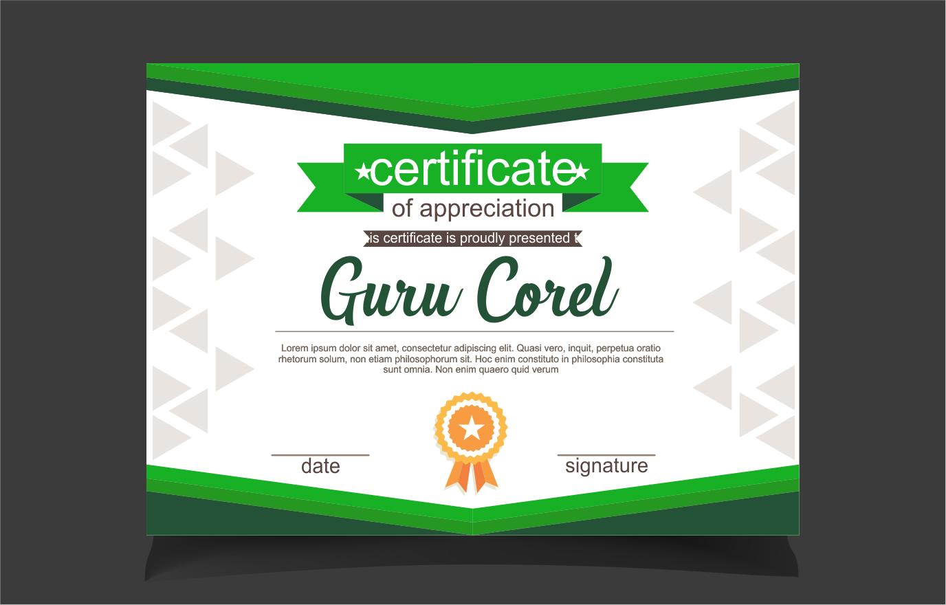 Download template sertifikat idealstalist download template sertifikat certificate yadclub Choice Image