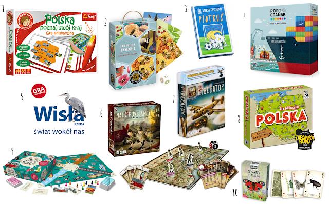 Gry i puzzle, z których poznasz polską historię, przyrodę, kulturę i nie tylko... - edycja 2019