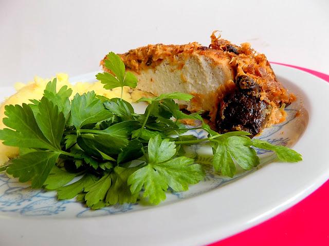 Kapusta kiszona i kurczak