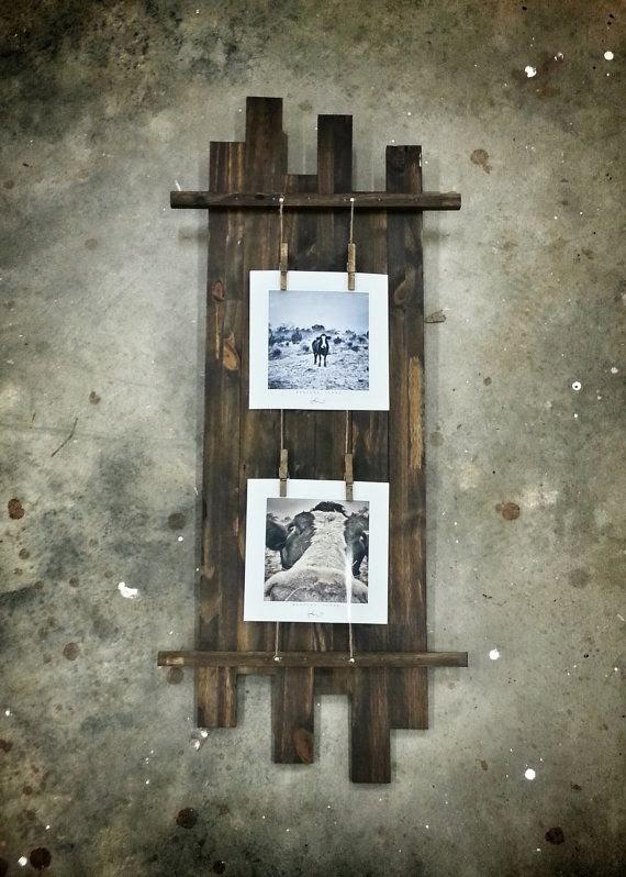 7 great diy rustic photo frames ideas diy fun world. Black Bedroom Furniture Sets. Home Design Ideas