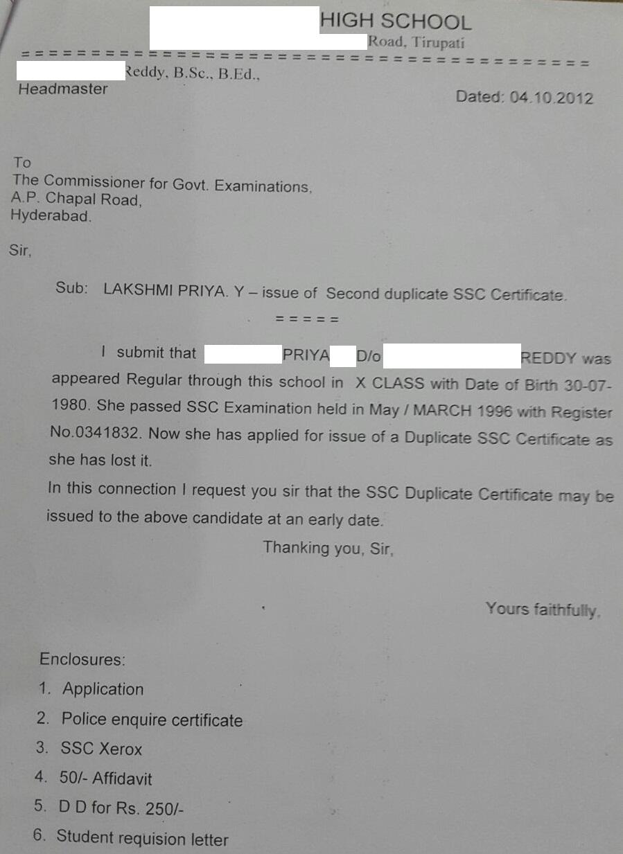 Affidavit Letter Format Picture Ideas References