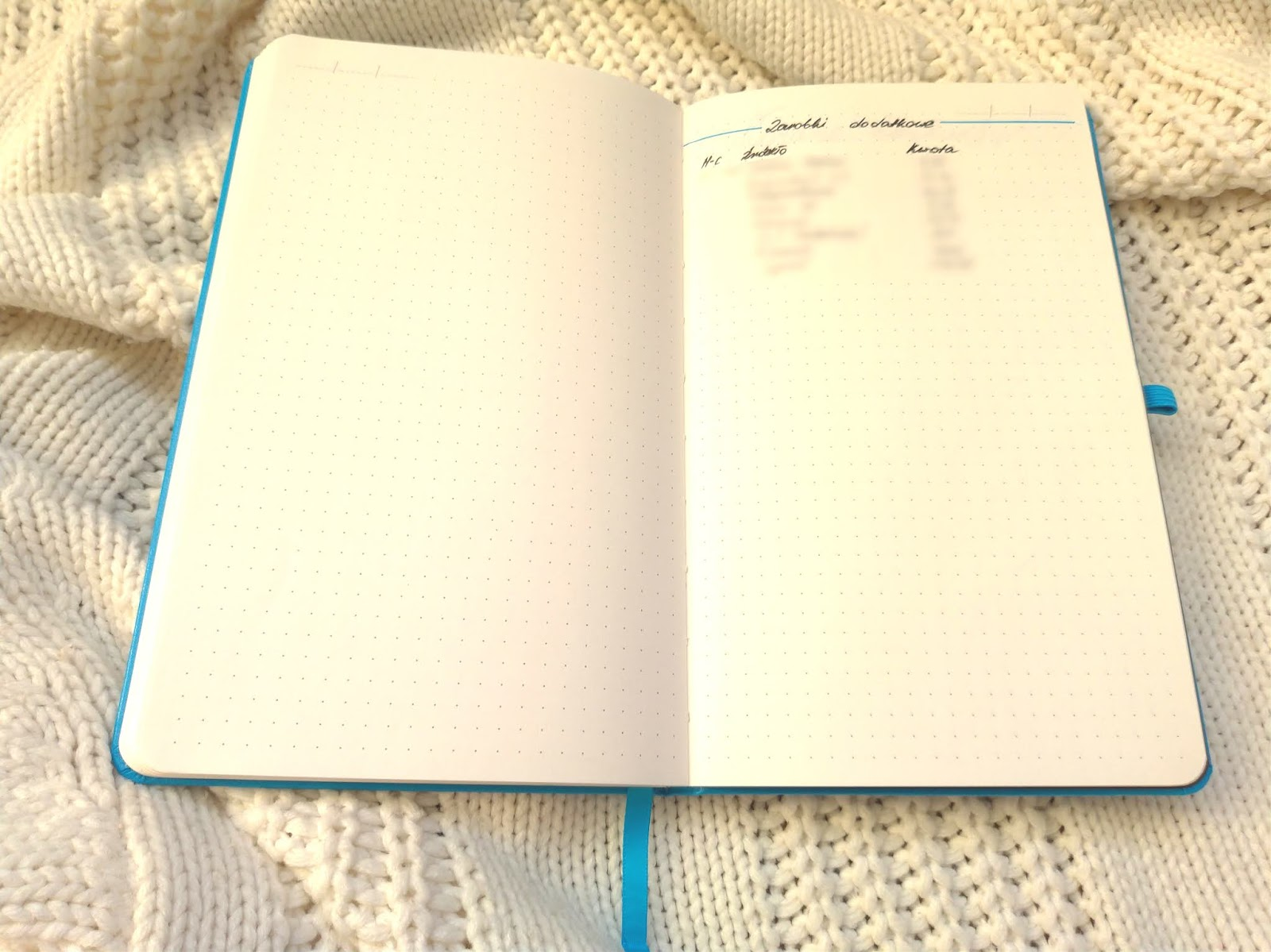 money tracker w Bullet Journal