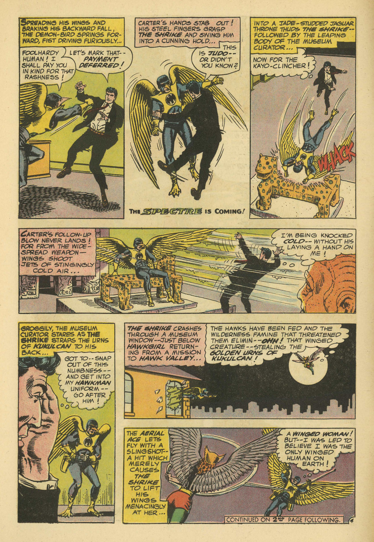 Hawkman (1964) issue 11 - Page 6