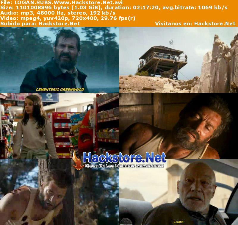 Capturas de Logan: Wolverine (2017) Subtitulada