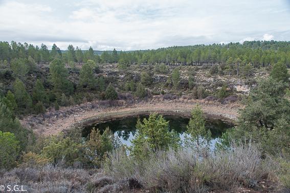 La laguna del Tejo. Lagunas de Cañada del Hoyo