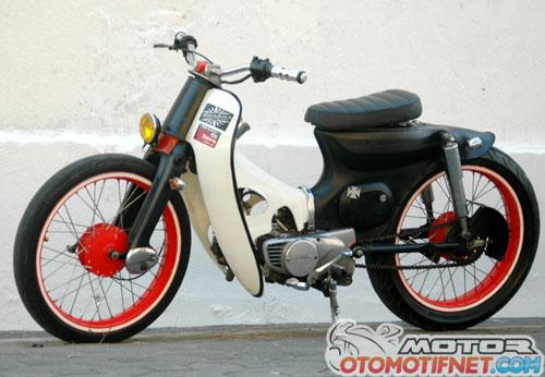 Modifikasi Honda C70 Street Cub