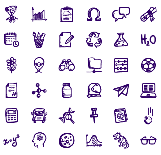 Download Brainy Education Icons