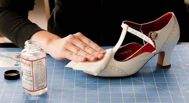 How To Paint Your Own 1920s Flapper Shoes American Duchess