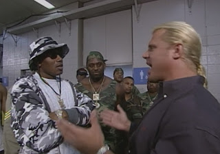 WCW Great American Bash 1999 - Curt Hennig confronts Master P and the No Limit Soldiers