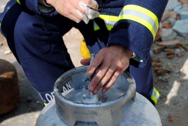 Vazamento de gás em restaurante de Canoinhas