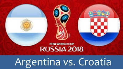 Live Streaming Argentina vs Croatia Piala Dunia 22.6.2018