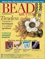 Bead & Button Magazine June 2009