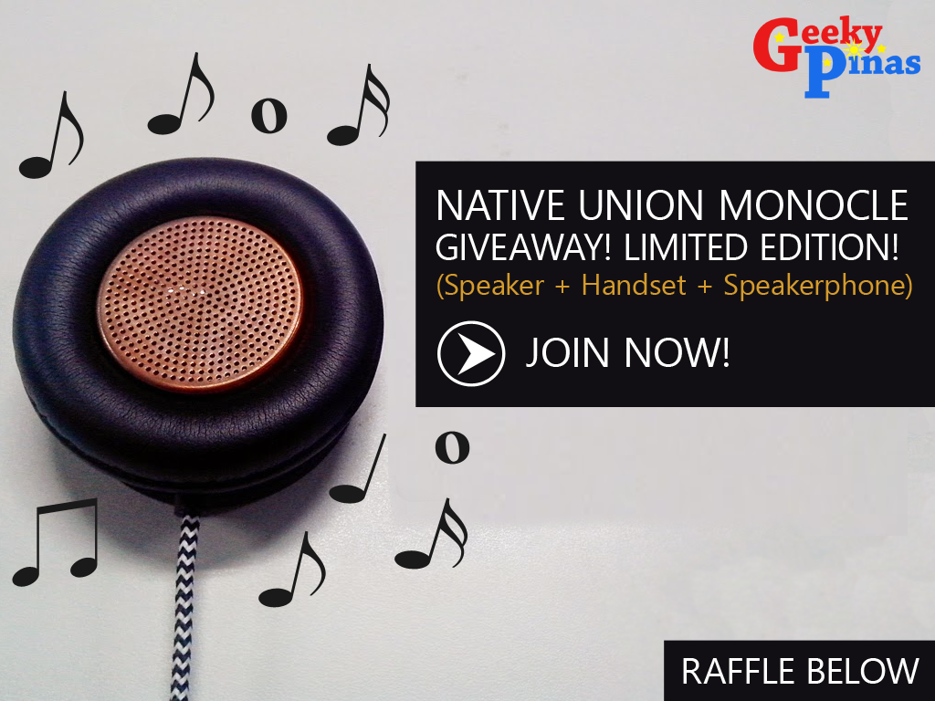 Limited Edition Native Union Monocle Speaker Review & Giveaway