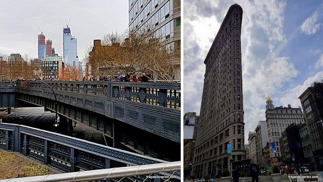 Passeios em Nova York - High Line Park e Flatiron Building