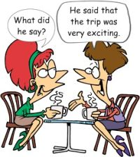 Indirect Speech or Reported Speech