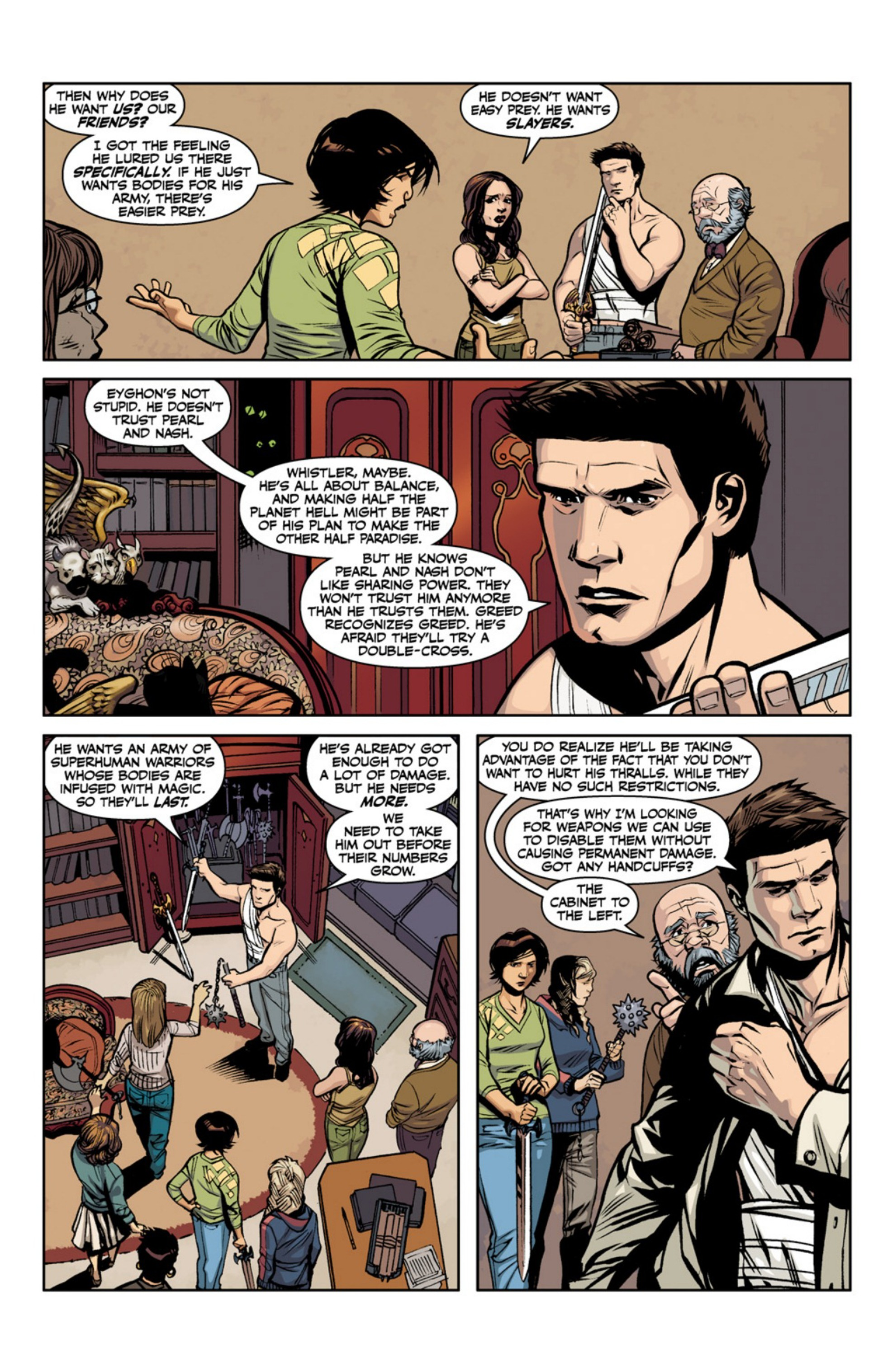 Read online Angel and Faith comic -  Issue #18 - 24