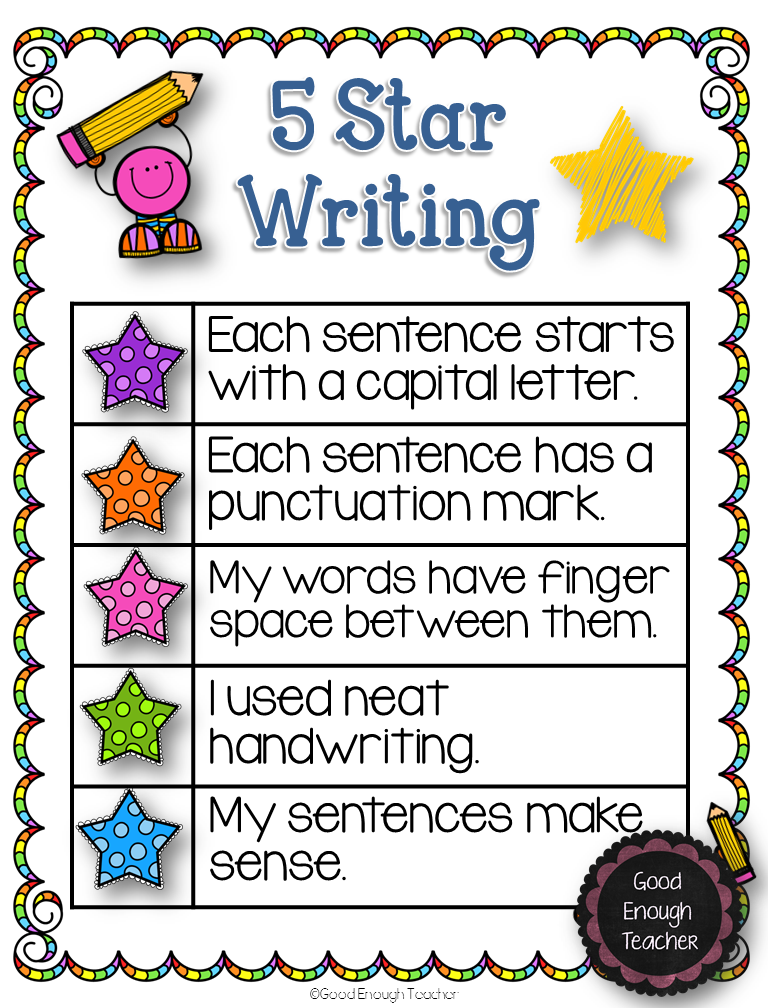 how to teach writing a topic sentence to second graders