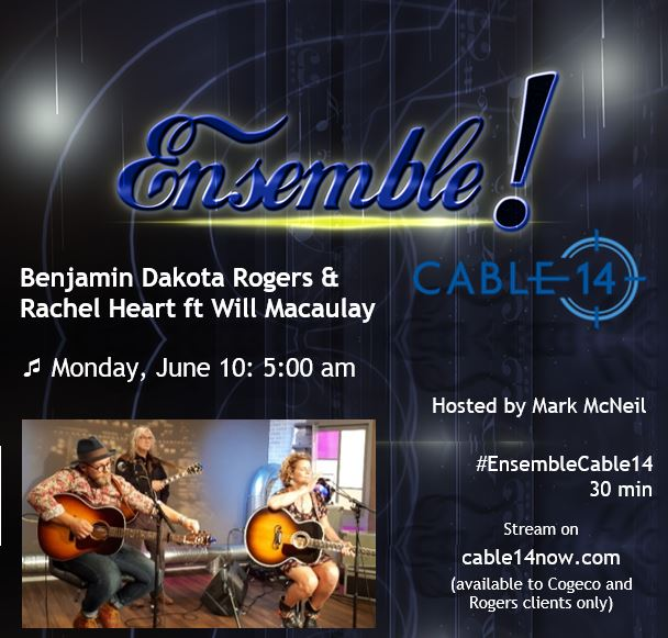Mon June 10, 5-5:30am on Cable 14 Hamilton (set your PVRs!)