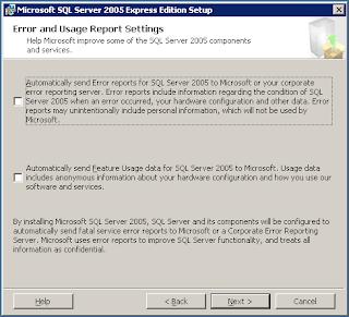 Install SQL Server
