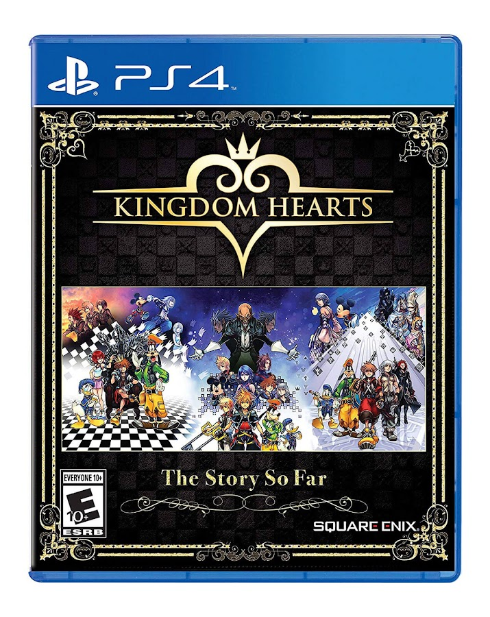 kingdom hearts story so far ps4