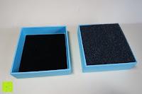 Box öffnen: Neoglory Jewellery mit Swarovski® Elements Armreif Schmetterling rosa und blau