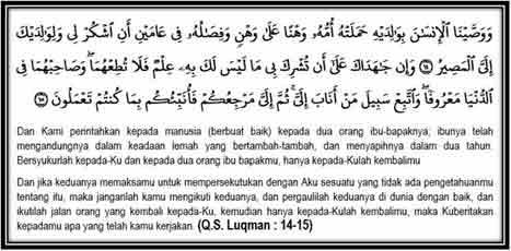 Q.S. Imran Ayat 14-15