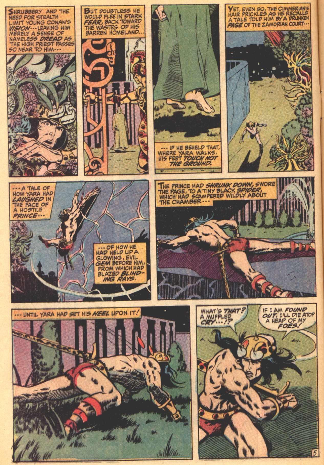Conan the Barbarian (1970) Issue #4 #16 - English 6