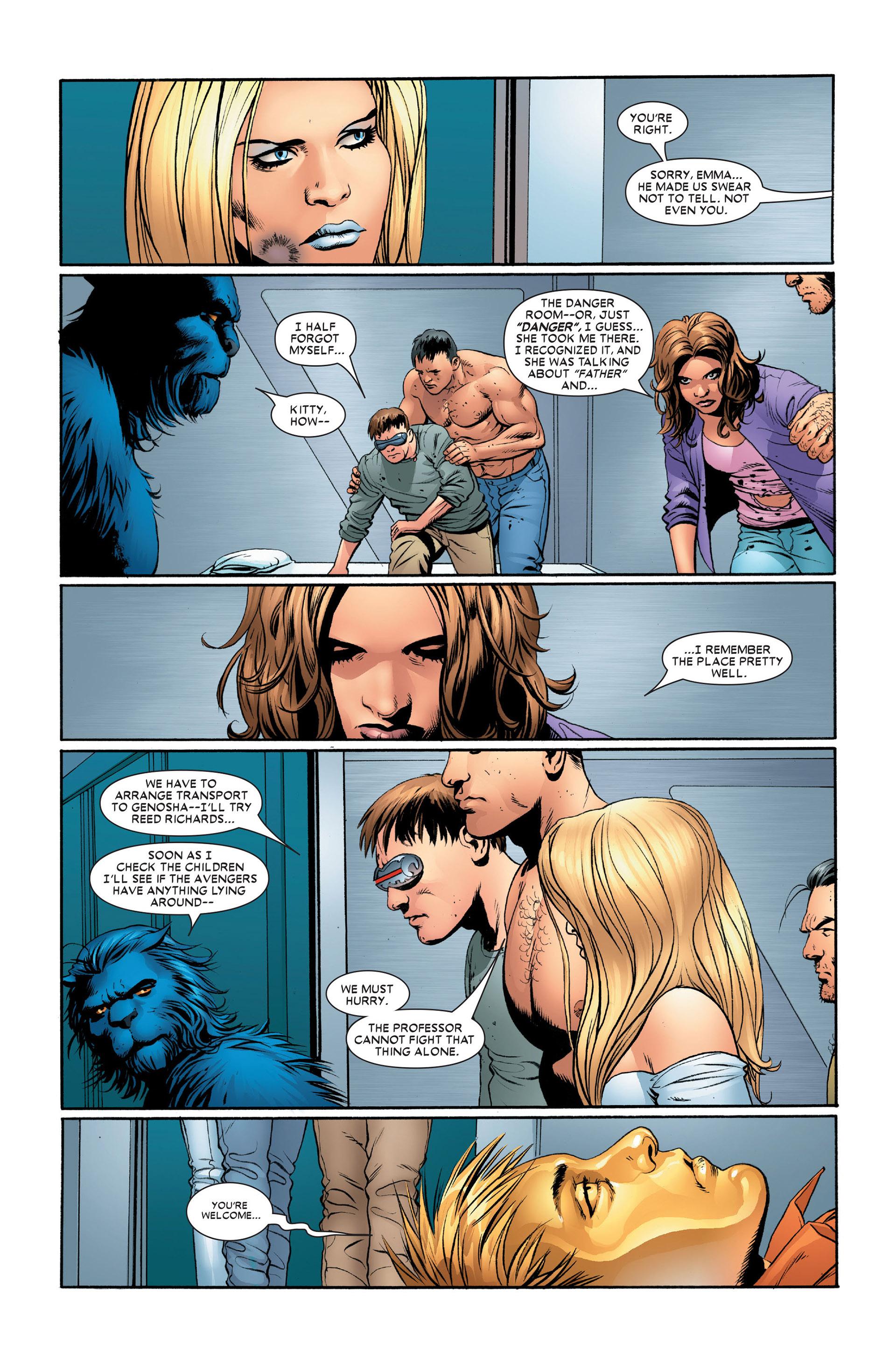 Read online Astonishing X-Men (2004) comic -  Issue #11 - 11