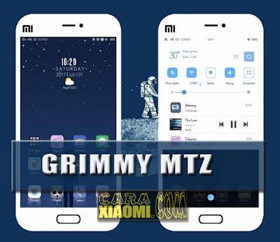 Theme Grimmy Mtz New For Xiaomi MIUI