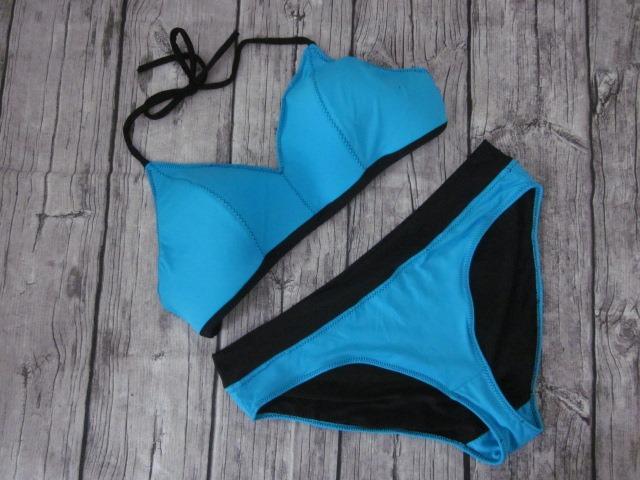 RUND und ECKIG: Bikini-Oberteil - Tutorial