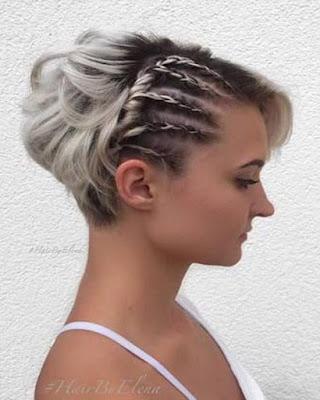 peinado con trenza de raíz tumblr