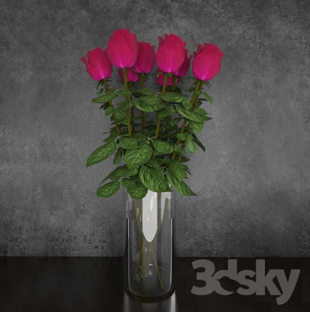 3D model free Flower pots