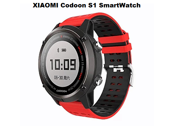 XIAOMI Codoon S1 SmartWatch Specs and Price