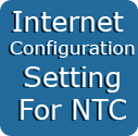 GPRS Setting for NTC