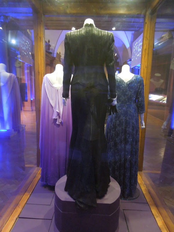 Iron Lady movie gowns back